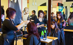 hairdressing at gordon institue
