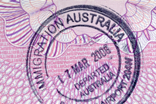 Australian Immigration Departure