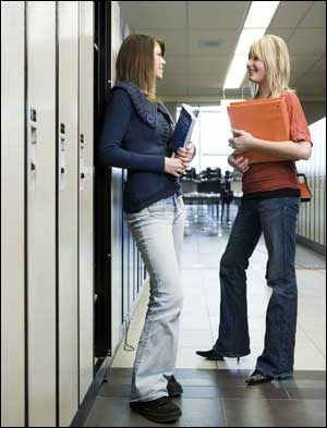 australian students socializing