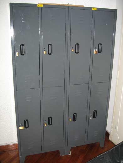 hostel lockers