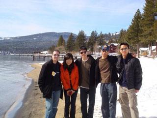 International students enjoying the holidays