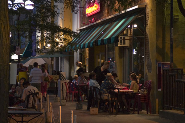 Main Street Restaurants in Australia