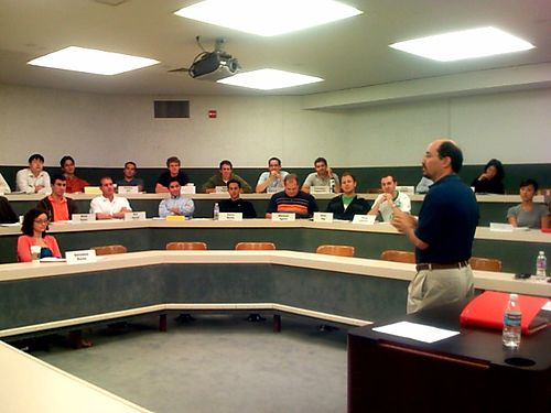 mba students learning business skills