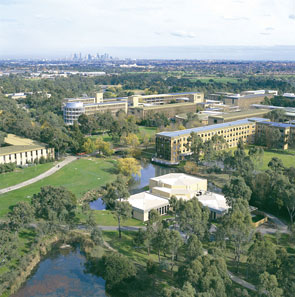 skyview of la trobe university