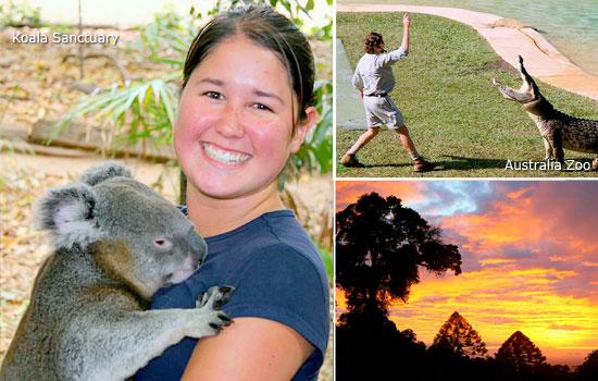 Summertime in Australia