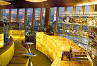 360 Bar and dining room at the top of Sydney Tower